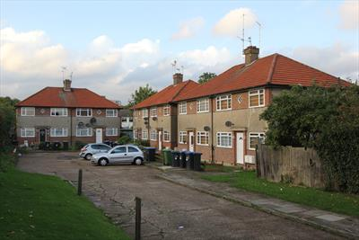 Southgate Residential Investment For Sale, North London - 12 maisonettes and 7 garages