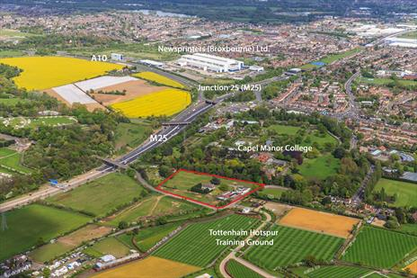 Freehold Land (4.6 acres) For Sale - Enfield EN2