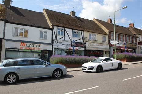 Rarely Available Freehold Shop and Upper Parts - Cuffley Village - EN6