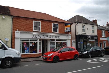 Freehold Shop and Upper Parts Investment For Sale -  Bagshot, Surrey GU19