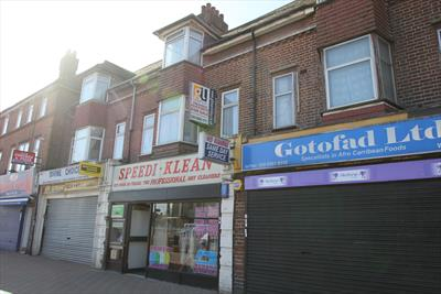 Freehold Shop and Upper Parts Investment With Development Potential For Sale Barking RM8