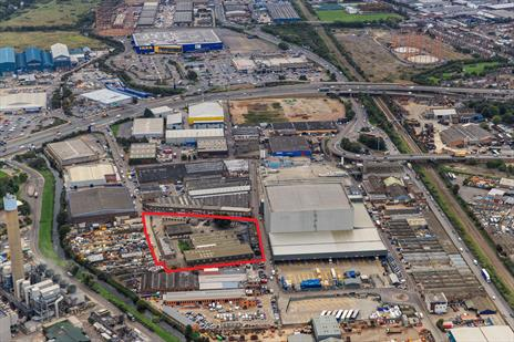 2.4 Acre Freehold Industrial Site For Sale Edmonton N18