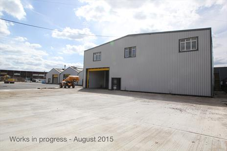 Refurbished Industrial Warehouse Units With Private Yards To Let - Edmonton N18