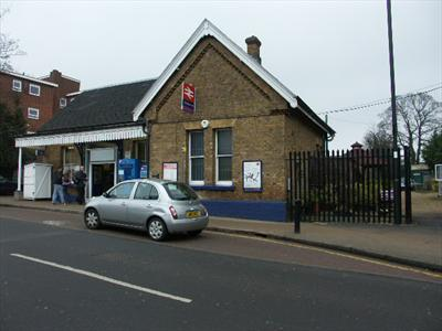 Entrance adjacent to Winchmore Hill Station