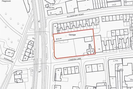 Freehold Residential Development Site For Sale - Hackney, London E8