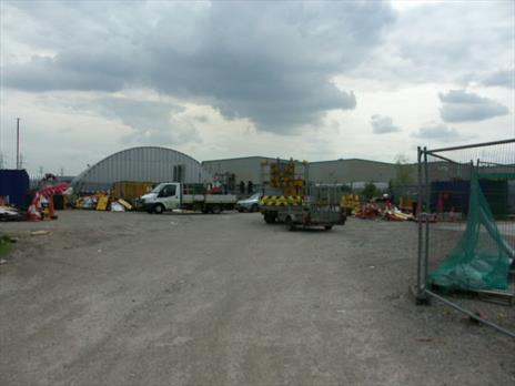 Substantial Builders Yard / Open Lane To Let - Enfield EN3