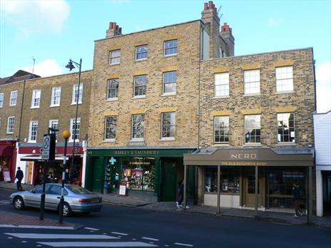 Rarely available opportunity:  freehold mixed residential / office / retail investment Highgate London N6