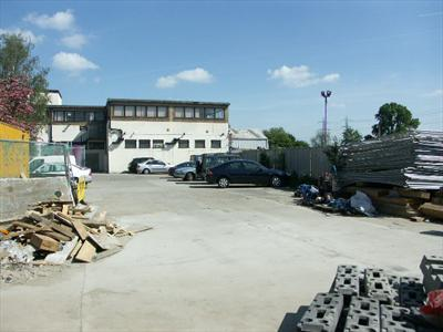 Large Freehold Yard With Industrial & Office Building For Sale - Enfield EN3