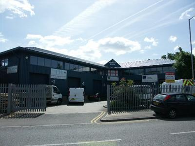 Small Warehouse with Mezzanine Office To Let - Cheshunt EN8