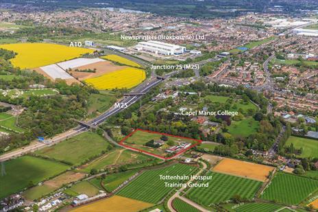 Freehold Land (4.6 acres) For Sale - Enfield EN2
