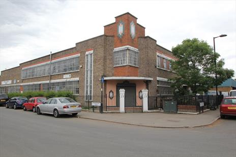 Attractive 2 Storey Art Deco Workshop / Warehouse For Sale - London N18