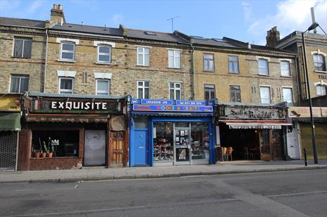 Freehold Shop and Upper Parts - Vacant Possession with Development Potential - London N4