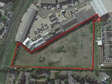 3.8 acre industrial development site acquired for clients - Dartford