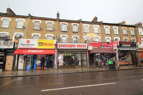 Freehold Shop and Upper Parts Investment For Sale - London N15