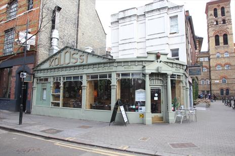 Fully Fitted Restaurant To Let Next To Exmouth Market, London EC1