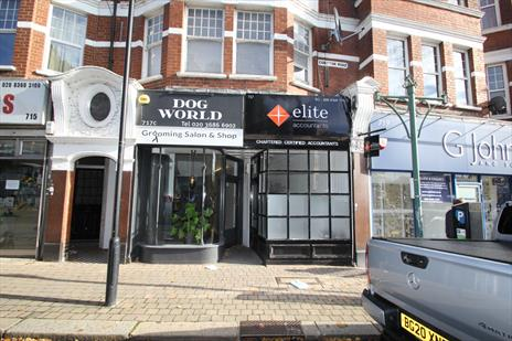 Long leasehold shop investment for sale - London N21