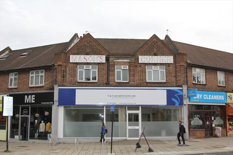Prominent Freehold Shop with Development Potential- Winchmore Hill N21